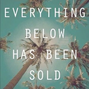 😊Everything below has been sold😊